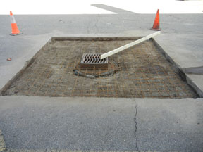 Michigan pothole repair