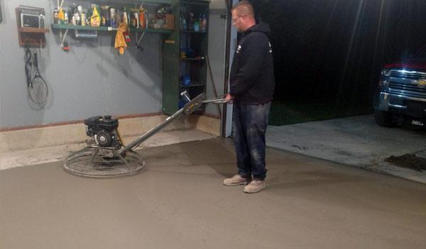 Concrete Finishing Michigan