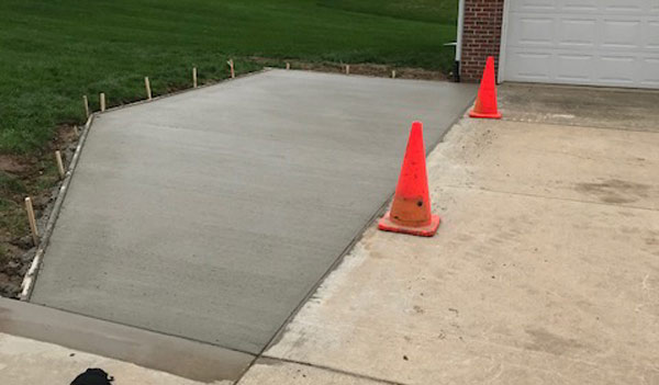 Concrete Parking Slab Installation