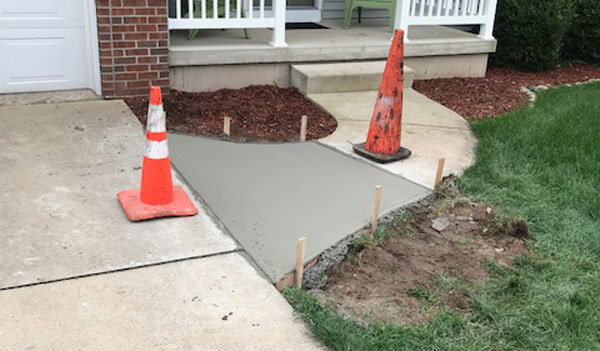 Cement Sidewalk Repair