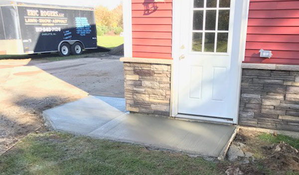 Concrete Entry Slab
