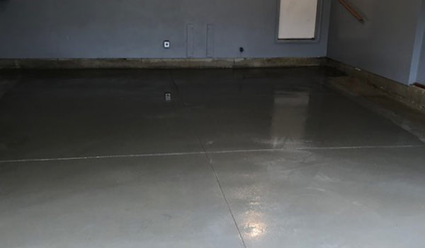 Concrete Floor Finished Project